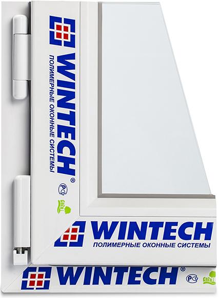 оконный ПВХ профиль Wintech Termotech 750 в разрезе
