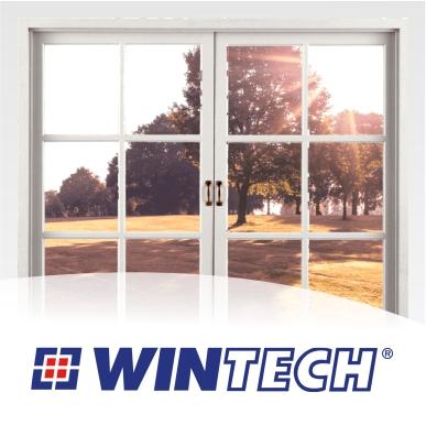 ПВХ окно двухстворчатое Wintech